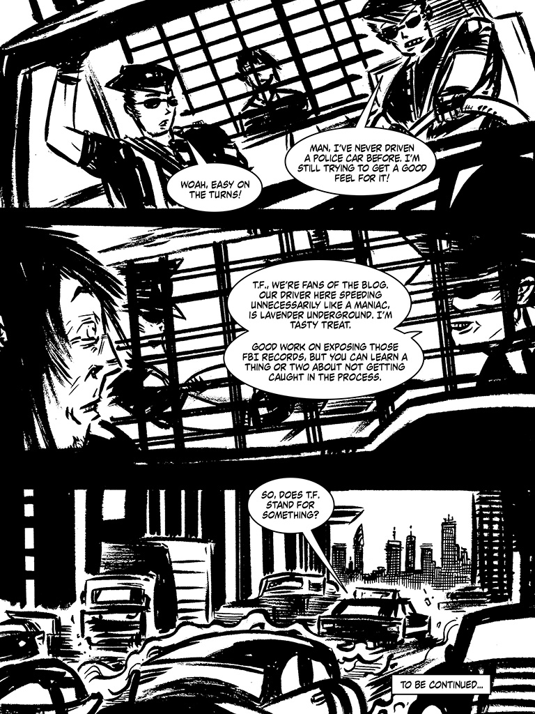 Hacktivity Comic - Magazine cover
